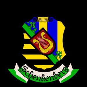 Blasmusikverein Schenkenberg e.V. - Logo Schwarz