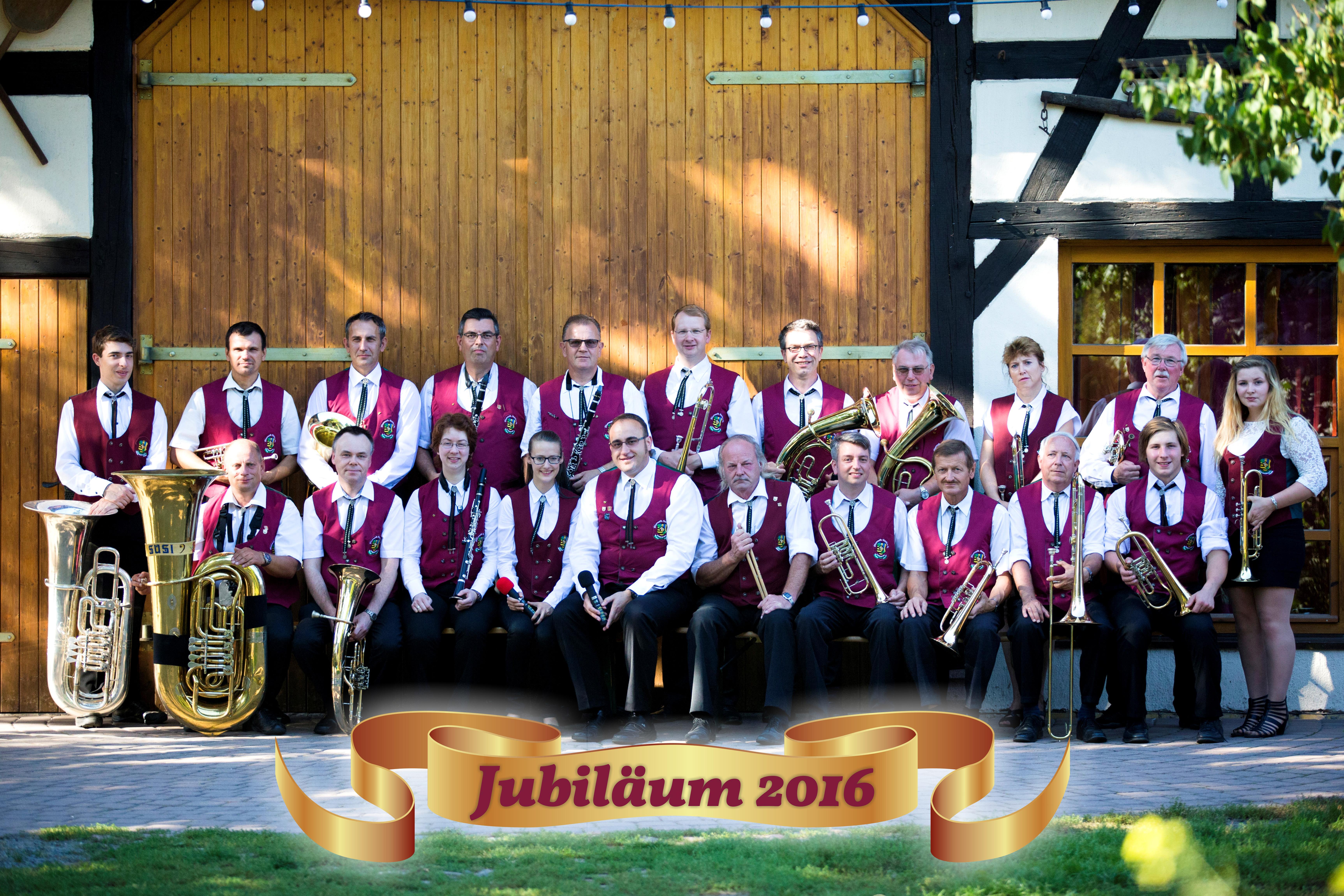 Jubiläum 2016 Blasmusikverein Schenkenberg e.V.