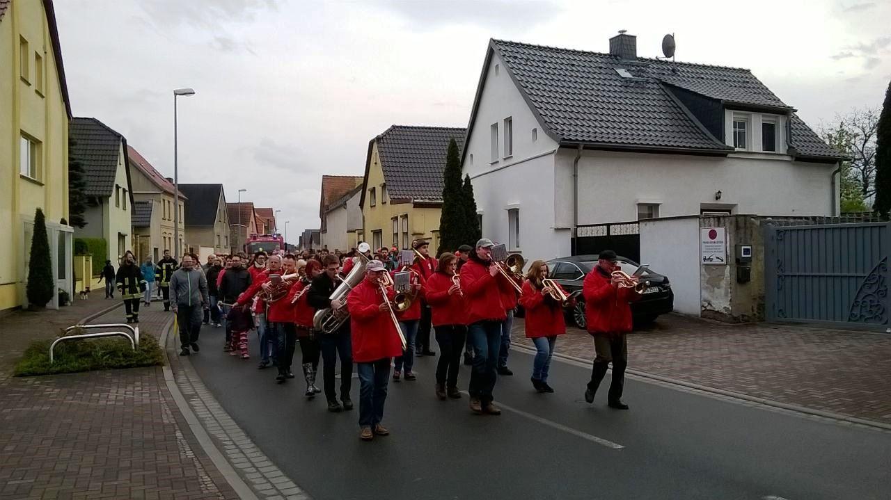 Osterfeuer Schenkenberg 2017 - Blasmusikverein Schenkenberg e.V.