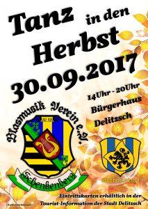 Tanz in den Herbst 2017 - Blasmusikverein Schenkenberg e.V.