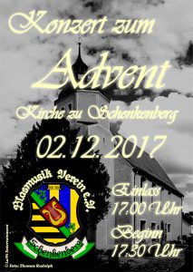 Adventskonzert 2017 - Blasmusikverein Schenkenberg e.V.