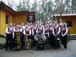 Gruppenfoto Schenkenberg 2010 - Blasmusikverein Schenkenberg e.V.