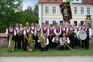 Gruppenfoto Schenkenberg 2007 - Blasmusikverein Schenkenberg e.V.