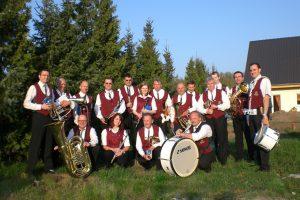 Gruppenfoto Schenkenberg 2009 - Blasmusikverein Schenkenberg e.V.