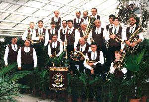 Gruppenfoto Schenkenberg 1994 - Blasmusikverein Schenkenberg e.V..
