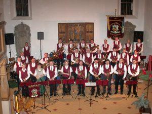 Gruppenfoto Schenkenberg 2002 - Blasmusikverein Schenkenberg e.V.