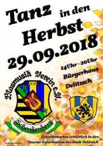 Tanz in den Herbst 2018 - Blasmusikverein Schenkenberg e.V.