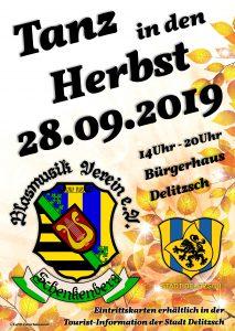 Tanz in den Herbst 2019 - Blasmusikverein Schenkenberg e.V.